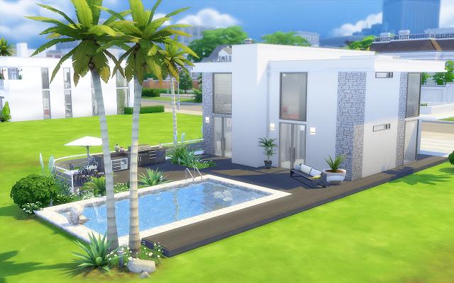 Sims 4 Modern House 38 at Via Sims