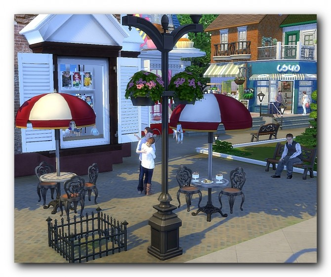 Shopping area of San Misano at Architectural tricks from Dalila image 2641 670x561 Sims 4 Updates