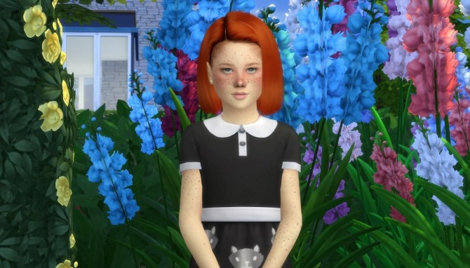 LEAH LILLITH FARAH HAIR KIDS AND TODDLER VERSION at REDHEADSIMS – Coupure Electrique image 270 670x382 Sims 4 Updates