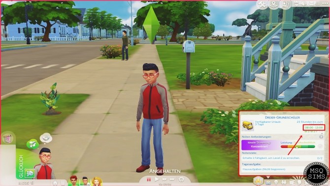 Sims 4 Short School Hours For Children by MSQSIMS at Mod The Sims