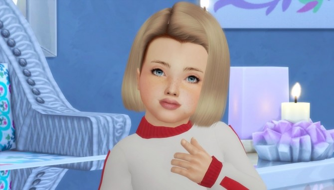 LEAH LILLITH FARAH HAIR KIDS AND TODDLER VERSION at REDHEADSIMS – Coupure Electrique image 2711 670x382 Sims 4 Updates