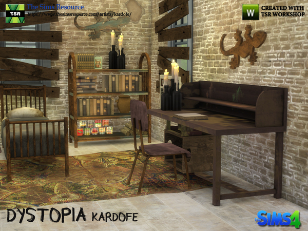 Dystopia bedroom by kardofe at TSR image 2715 Sims 4 Updates