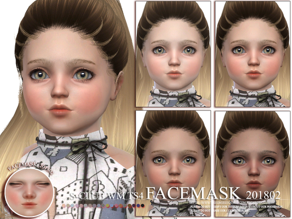 Facemask 201802 by S Club WM at TSR image 2716 Sims 4 Updates