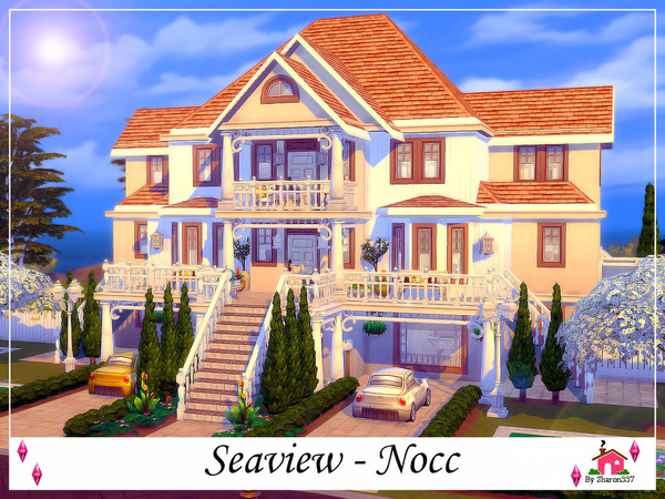 Sims 4 Seaview house Nocc by sharon337 at TSR