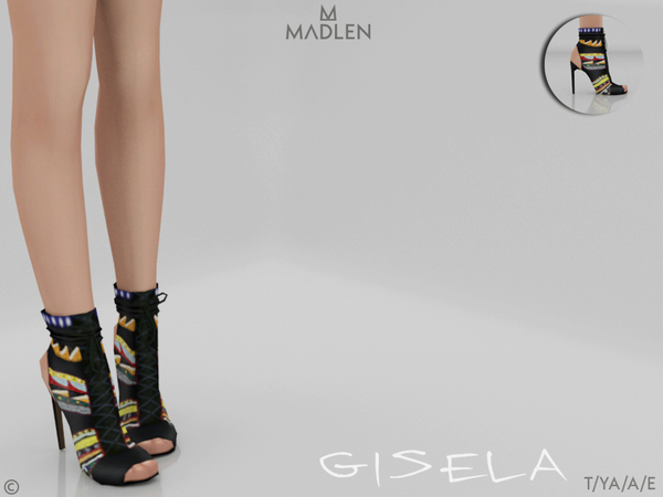 Sims 4 Madlen Gisela Shoes by MJ95 at TSR