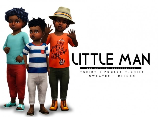 Sims 4 My Little Man Clothing Pack for Toddlers at Onyx Sims