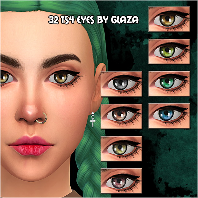 Sims 4 Eyes #32 at All by Glaza