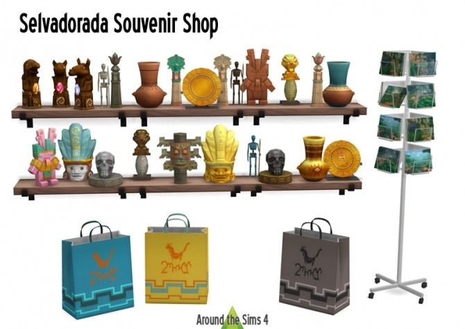 Selvadorada Souvenir Shop at Around the Sims 4 image 285 670x475 Sims 4 Updates