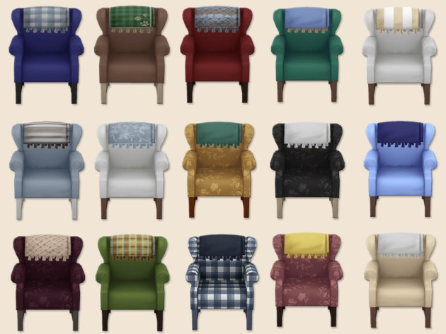 Armchair by Cäcilia at Akisima image 287 Sims 4 Updates