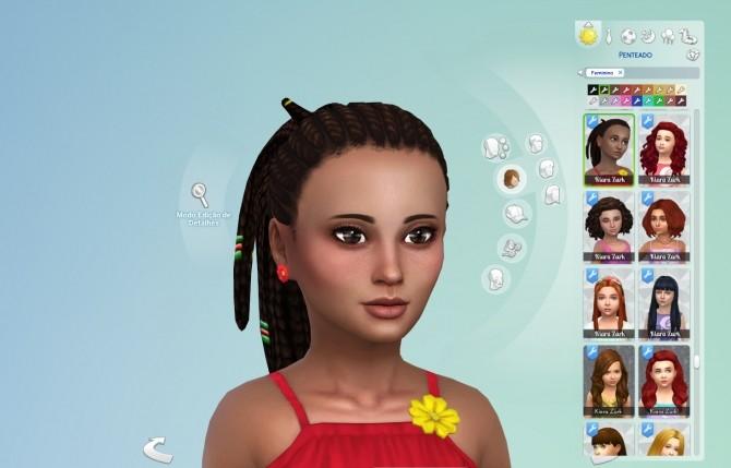 Sims 4 Anya Hair for Girls at My Stuff