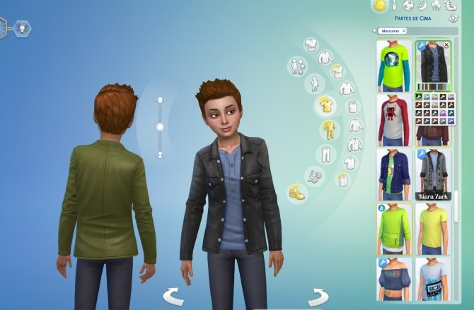 Sims 4 Jacket Henley Conversion at My Stuff