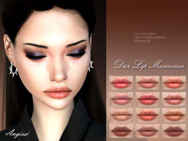 Lip Maximizer by ANGISSI at TSR image 2914 Sims 4 Updates