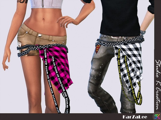 Belt for both gender at Studio K Creation image 2922 670x502 Sims 4 Updates