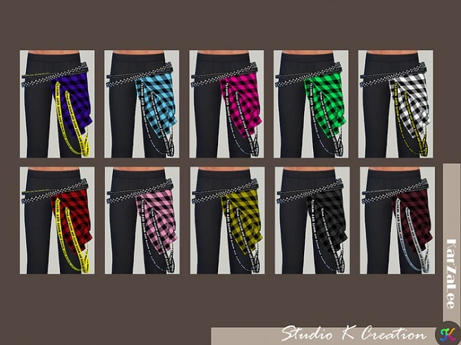 Belt for both gender at Studio K Creation image 2931 670x502 Sims 4 Updates