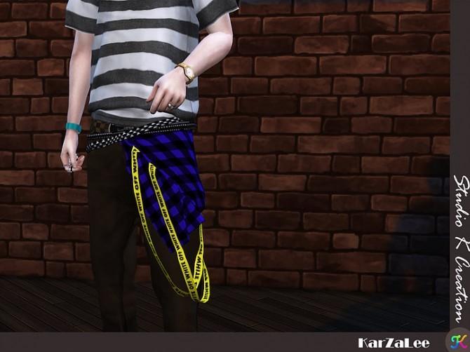 Sims 4 Belt for both gender at Studio K Creation
