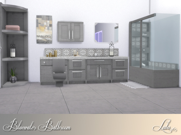 Bluewater Bathroom by Lulu265 at TSR image 3017 Sims 4 Updates