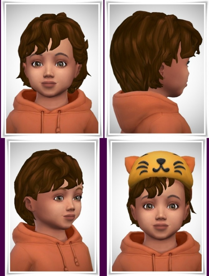 Sims 4 Curly Bangs Toddler at Birksches Sims Blog
