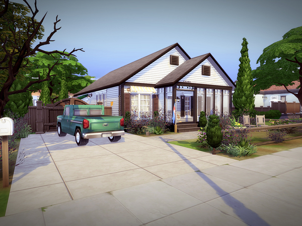 Lowdrive house NO CC by melcastro91 at TSR image 3105 Sims 4 Updates