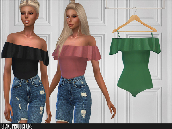 Sims 4 119 Top by ShakeProductions at TSR