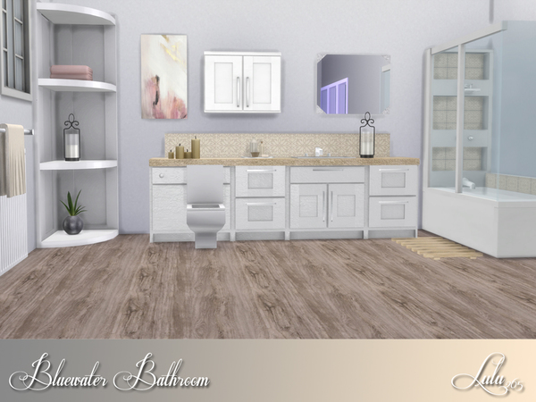 Bluewater Bathroom by Lulu265 at TSR image 3117 Sims 4 Updates