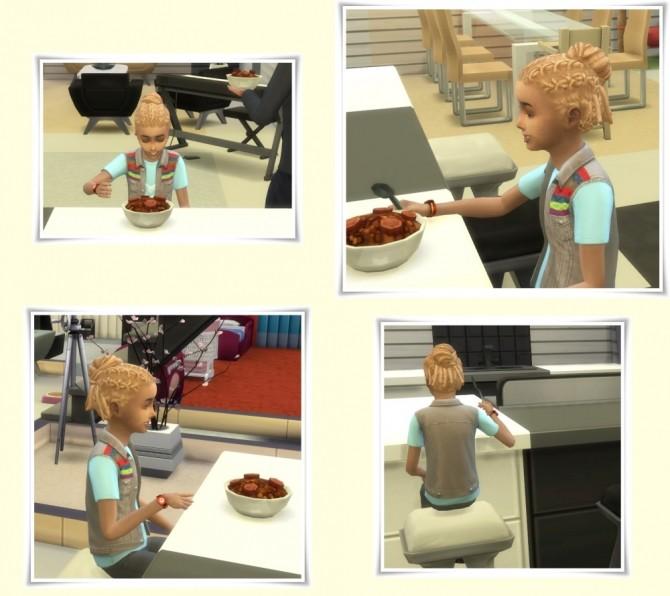Sims 4 Box Braid Knot Kids at Birksches Sims Blog