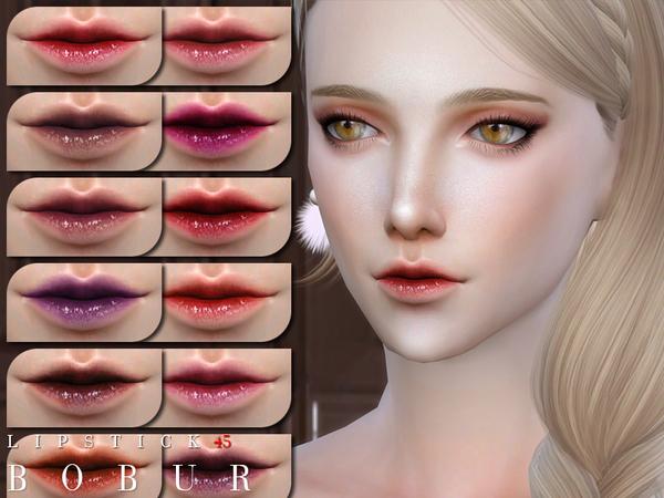 Lipstick 45 by Bobur3 at TSR image 3124 Sims 4 Updates