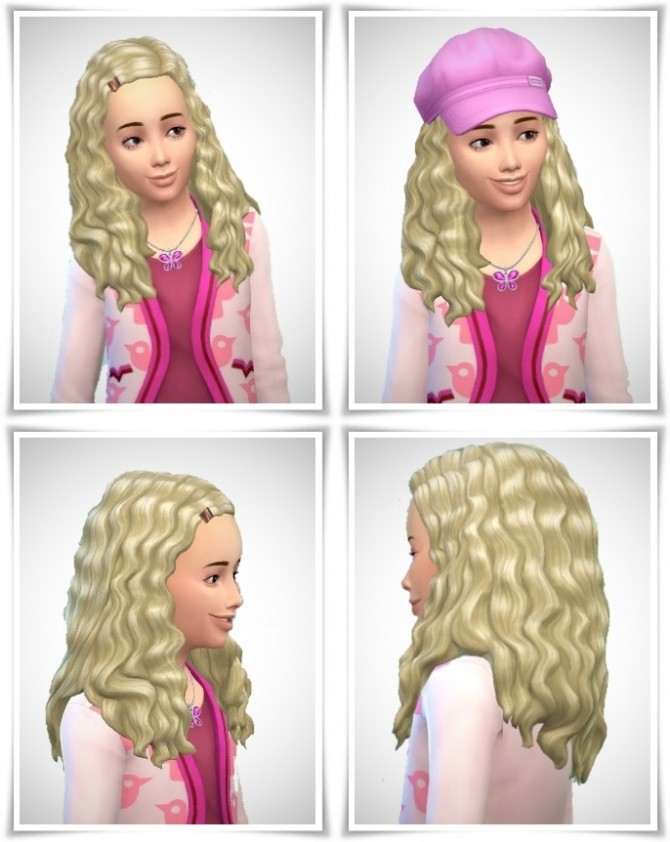 Sims 4 Clip Curls Girls at Birksches Sims Blog