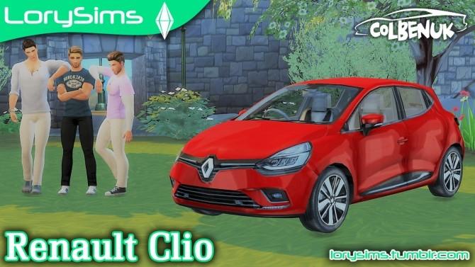 Renault Clio at LorySims image 317 670x377 Sims 4 Updates