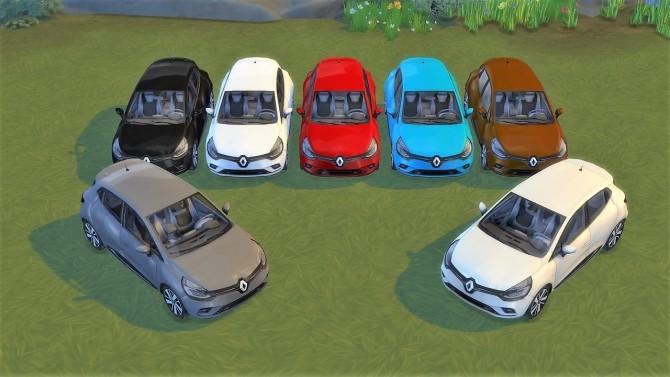 Renault Clio at LorySims image 320 670x377 Sims 4 Updates