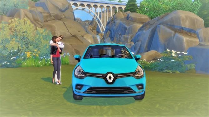 Renault Clio at LorySims image 3211 670x377 Sims 4 Updates
