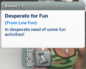 Sims 4 Low Fun Is Boring v.1.0 by Nies at Mod The Sims