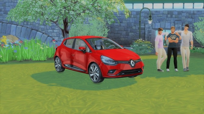 Renault Clio at LorySims image 324 670x377 Sims 4 Updates