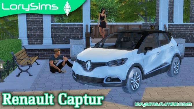 Renault Captur at LorySims image 325 670x377 Sims 4 Updates