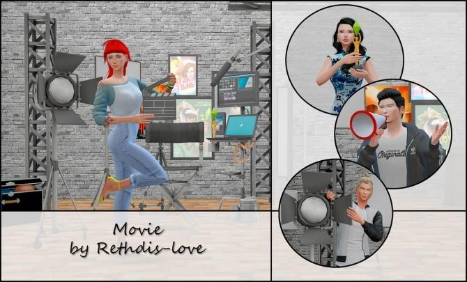 Movie poses at Rethdis love image 3271 670x405 Sims 4 Updates