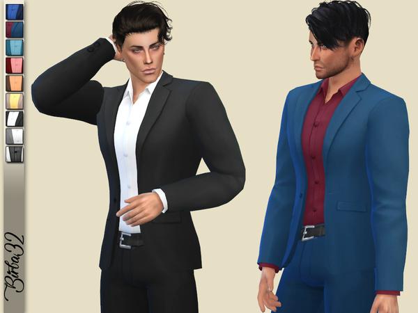 Sims 4 Tony Jacket by Birba32 at TSR
