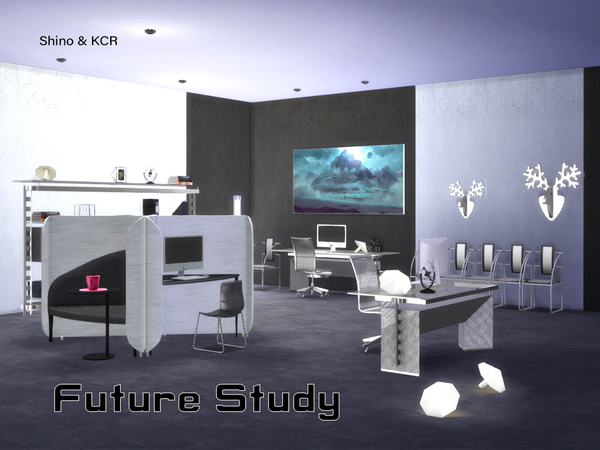 Study Future by ShinoKCR at TSR image 3318 Sims 4 Updates