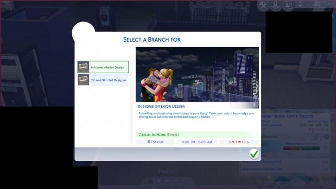 Sims 4 Interior Design Career by DiamondVixen96 at Mod The Sims