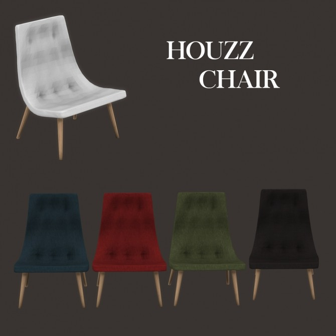 Houzz Chair at Leo Sims image 3422 670x670 Sims 4 Updates