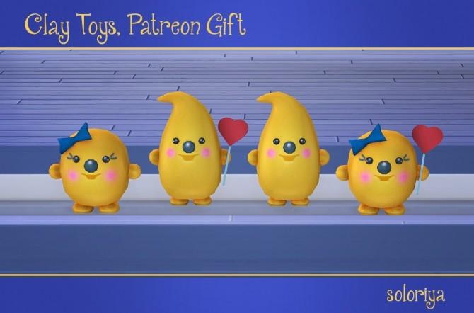 Clay Toys Patreon Gift at Soloriya image 3461 670x442 Sims 4 Updates