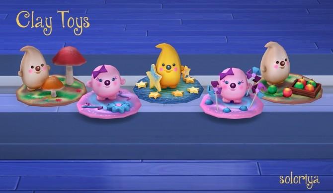 Clay Toys at Soloriya image 3481 670x389 Sims 4 Updates
