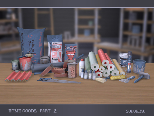 Home Goods part 2 by soloriya at TSR image 3517 Sims 4 Updates