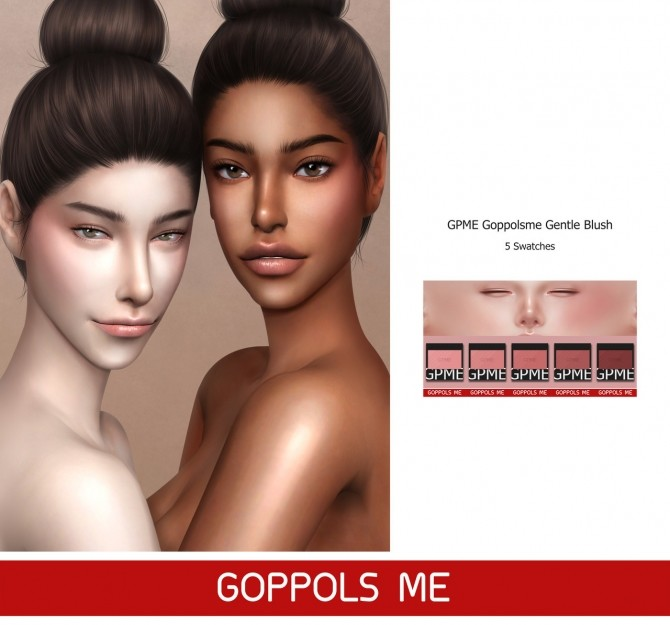 Gentle Blush at GOPPOLS Me image 353 670x625 Sims 4 Updates