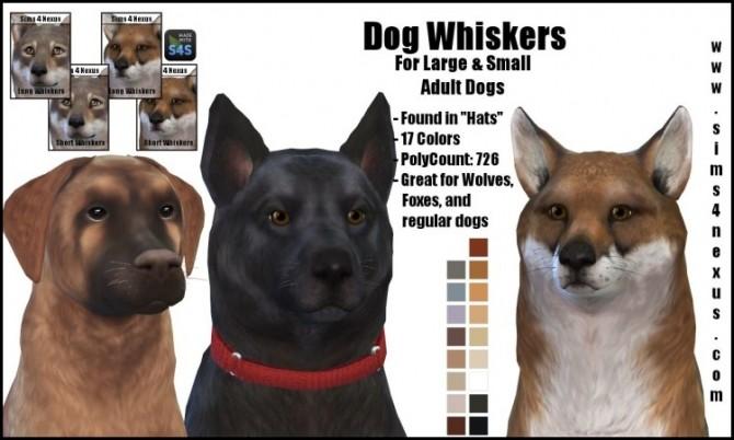 Sims 4 Dog Whiskers by SamanthaGump at Sims 4 Nexus