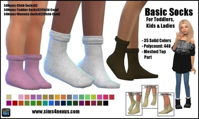 Basic Socks by SamanthaGump at Sims 4 Nexus image 3591 670x402 Sims 4 Updates