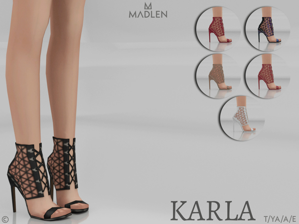 Madlen Karla Shoes by MJ95 at TSR image 3613 Sims 4 Updates