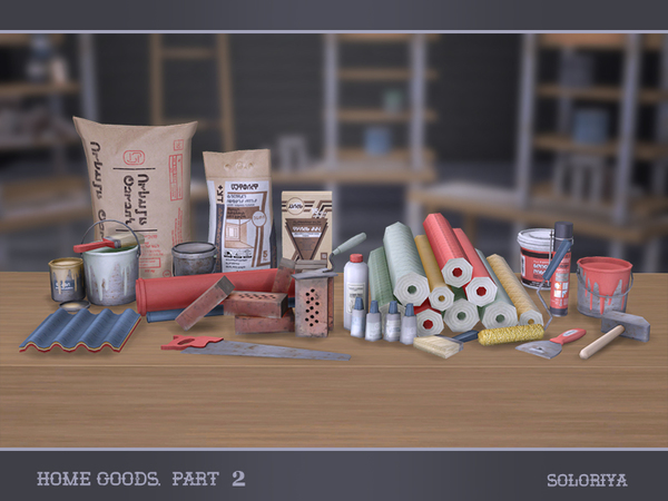Home Goods part 2 by soloriya at TSR image 3616 Sims 4 Updates