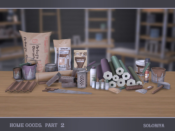 Home Goods part 2 by soloriya at TSR image 3717 Sims 4 Updates