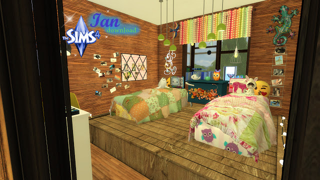 Ian bedroom by Rissy Rawr at Pandasht Productions image 3721 Sims 4 Updates
