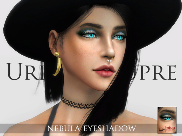 Sims 4 Nebula eyeshadow by Urielbeaupre at TSR