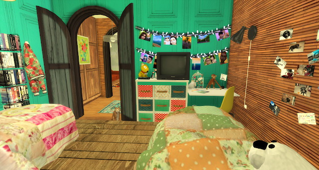 Ian bedroom by Rissy Rawr at Pandasht Productions image 373 Sims 4 Updates